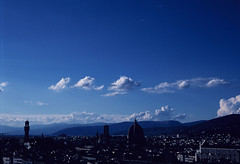 Firenze View (Ronen Chernyak) Tags: italy analog slidefilm 35mmfilm firenze nikonf3hp nikkor50mmf14d provia400 colorfilm