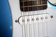Yamaha 7 (Sudev Bangah) Tags: blue guitar 110 yamaha pacifica cheap stratocaster pelham