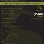 Torneo Oro Dream Pádel Quart de Poblet Oct2013
