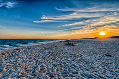 Watching the Sunset (Digital World of Paul) Tags: ocean sunset sky sun ny newyork beach water clouds landscape photography li sand nikon waves longisland hdr liny 1424 originalphotography nikon1424f28 cupsoquebeach cupsoquecountypark retinaresolution artistsontumblr d800e nikond800e lensblr photographersontumblr