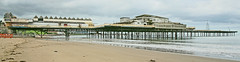 """The End of the Pier"" "" Victoria Pier, Colwyn Bay""  or The Grade II listed Victoria Pier. Note t"