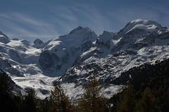 Piz Bernina ( GR - 4'048,6m => einziger Viertausender der Ostalpen ) in den Alpen - Alps im Engadin im Kanton Graubünden - Grischun in der Schweiz und Italien (chrchr_75) Tags: italien oktober mountain alps berg montagne schweiz switzerland suisse swiss alpen christoph svizzera montagna 1310 piz bernina suissa graubünden kanton chrigu berninagruppe 2013 grischun chrchr viertausender hurni kantongraubünden chrchr75 chriguhurni albumgraubünden chriguhurnibluemailch kantongrischun hurni131018 albumbergeimkantongraubünden