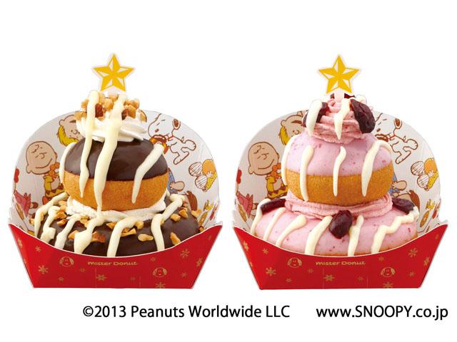 """可愛到無法入口~ mister Donut 推出聖誕限定版""""史努比""""造型甜甜圈"""