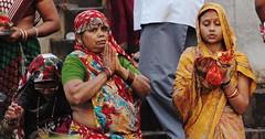 Prayer - Ganges, India (Keith Wilko) Tags: india asia praying ganges