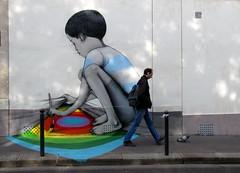 Street art Paris - Seth (_Kriebel_) Tags: street paris art de graffiti la rue urbain kriebel