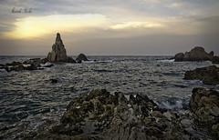 Almera tierra de contrastes (Marcelo Reche Caadas) Tags: parque costa mar nikon natural almeria marcelo cabodegata arrecife nijar reche lassirenas