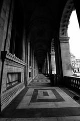 Open Corridor (BnW) (KatiaUK) Tags: longexposure paris france march d300 weldingglass 2013