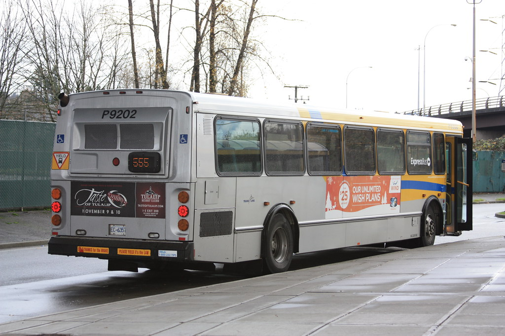 9202: 555 Port Mann Express / Carvolth Exchange