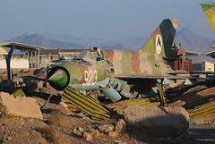 Traditional MiG (Digital Sapphire) Tags: afghanistan scrapyard hdr afg shindand
