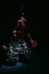 Trapped in the Dark (a.r.d.pullin) Tags: selfportrait dark grid blood shadows camo
