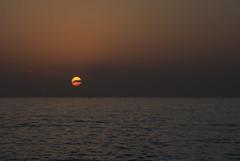 Sunset (colimadi) Tags: sunset sea israel nikon mediterraneo tramonto mare tel aviv