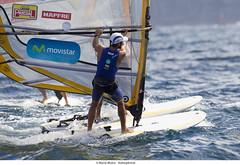 El windsurfista Movistar Iván Pastor, campeón de la Semana Olímpica Canaria
