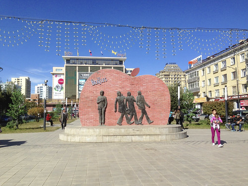 Beatles Monument Ulaanbaatar, Mongolia