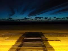sunset beach night strand atardecer noche google nacht 5... (Photo: miguelno on Flickr)