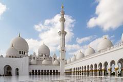 Sheikh Zayed Mosque (W_Abril) Tags: mosque abudhabi marble unitedarabemirates grandmosque mesquita mamol sheikhzayedmosque