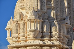Shri Swaminarayan Mandir (elnina999) Tags: sculpture building art history statue stone closeup worship texas traditional religion praying culture houston statues buddhism philosophy palace silence indie column marble tradition shiva domes hindu hinduism sculptures carvings activities ethnicity religiouspractices handcarved shriswaminarayanmandir hindumandir marblepillars italianmarble turkishlimestone sacredshrine craftsmanwork ancientindianart nikond5100 houseofdevotion artiandrituals toweringpinnacles