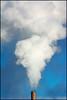 Cloud Generator (2 of 2) (Andy Marfia) Tags: clouds vent iso200 illinois university smoke steam smokestack northwestern evanston 70300mm f8 11600sec d7100