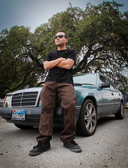 The Benzo (Nathan Gentry) Tags: car canon benz mexican canon5d benzo mecedes cholo
