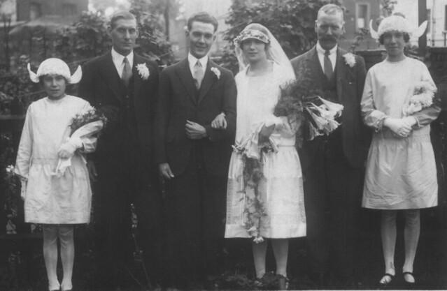Arthur_English_and_Jessie_Louise_Brimson_Marriage_1927