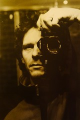 twenty years ago (when i was a young man with an old camera) (push 1) Tags: camera self canon mirror selfie