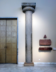 Pilaster reconstruction, Treasury of Atreus