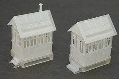 John Street Gatehouse - Vintage & Restored Front 3/4 (Stephen Gardiner) Tags: toronto ontario model pentax railway trains 187 cpr gatehouse 2014 hoscale canadianpacificrailway 1645 3dprinted k20d shapeways