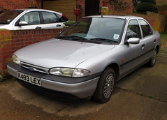 1993 Ford Mondeo 1.8 GLX (Spottedlaurel) Tags: ford 1993 mondeo mk1