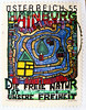 "great stamp Austria 55c (Dec. 8th 1984 - 30th anniversary of peaceful occupation of the Hainburger Au wetland) painting by Friedensreich Hundertwasser Hainburg ""The Great Outdoors Is Our Freedom"" poste-timbres Autriche sellos Austria selos 55c (stampolina, thx for sending stamps! :)) Tags: art 2004 nature postes painting freedom austria oostenrijk österreich colorful artist arte stamps kunst cent natur free porto colourful 55 postage postzegel franco autriche hundertwasser € freiheit künstler sellos 艺术 briefmarken markas greatoutdoors pulu selos timbres hainburg francobolli zegels timbresposte znaczki frimerker frimaerke sellodecorreo pulları timbru แสตมป์ postapulu postestimbres postetimbres selodecorreio antspaudai znamk иску́сство"