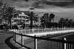 Lake Charles Waterfront (Frank DiCesare) Tags: water palms louisiana waterfront south center southern palmtrees convention railing lakecharles