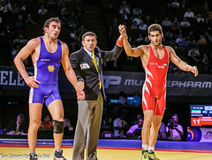 2014 World Cup Iran vs Armenia (jrsachs) Tags: freestyle wrestling freestylewrestling fila techfallcom