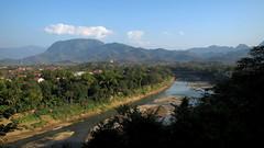 Luang Prabang scenery (PeterCH51) Tags: light river landscape evening scenery laos luangprabang namkhan louangphrabang 5photosaday louangphabang namkhanriver mywinners earthasia peterch51 flickrtravelaward