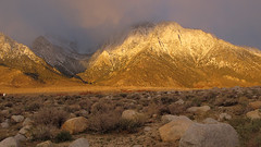 Morning Light on Sierras (Mike Dole) Tags: california sierranevada lonepinepeak tuttlecreekcampground