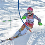 Kajsa Vickhoff LIE of Norway takes 4th Place in the U16 Girls Slalom Race held on Whistler Mountain on April 6th, 2014. Photo by Scott Brammer - coastphoto.com - coastphoto.com
