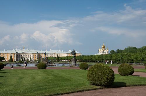 Upper garden - Peterhof /  ©  Still ePsiLoN