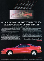 Toyota Celica ST185 (celicacity) Tags: love me for do you turbo revolution advert toyota what species 1989 gt4 celica st185 i alltrac