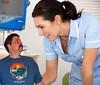 Doctor seems happy (iggy62pop2) Tags: man sexy uniform doctor tiny upskirt nurse examine milf giantess tallwoman heightcomparison shrinkingman minigiantess