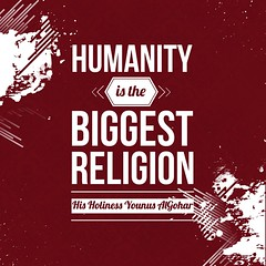 QuoteoftheDay 'Humanity is the biggest religion.' - His Holiness Younus AlGohar (zarinagoharmfi) Tags: peace humanity quote faith religion compassion philosophy divine quotes harmony positive spirituality enlightenment innerpeace consciousness inspiring empathy divinity photooftheday picoftheday compassionate goodvibes realtalk inspirationalquotes higherconsciousness bestoftheday inspiringquotes faithquotes younusalgohar