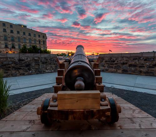 Cannon Sunrise