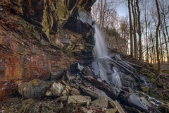 Unnamed Falls, White County, Tennessee 1 (Chuck Sutherland) Tags: waterfall falls stream creek water whitecounty tennessee tn