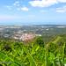 Views of Penang island. Hill views & lake
