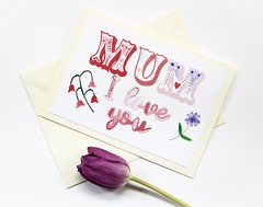 Mum I love you Mother's day handmade greeting card-5 (roisin.grace) Tags: greetingcards greetingcard handmade handpainted handmadecards handpaintedcards happymothersday mothersday mothersdaycard lovecards lovecard