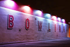 Bowling (Curtis Gregory Perry) Tags: portland oregon pdx night longexposure bowling bowl alley nikon d810