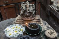 Ganesh Shrine, Ambalangoda, Sri Lanka (Peter Cook UK) Tags: ambalangoda lanka statue shop ganesh southern antiques sri hindu shrine