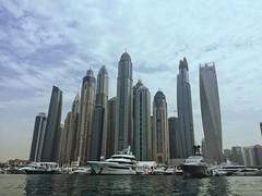Dubai Skyline (CarysBlackburn) Tags: dubai uae boats yacht asia