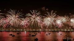 Fireworks # 5 - New Year - Rio de Janeiro/RJ - Brazil (Enio Godoy - www.picturecumlux.com.br) Tags: riodejaneiro newyear fireworks viveza21020202020139 nikon niksoftware night nikond300s