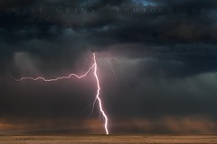Storm Over The Plains (Matt Grans Photography) Tags: lightning lightening storm clouds cows plains nebraska weather