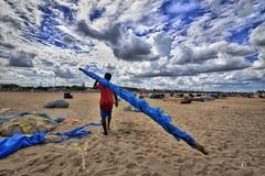 After Work... (aestheticsguy2004) Tags: nikon nikond750 nikond750tamron1530 tamron1530 neeteshphotography landscapephotography marinabeach fishermenlife clouds cloudsdrama skies sky chennai wideshot