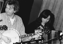 Eamonn Coyne and Colette O'Leary – Festival Club – October 1997 (photo: Grant Young)