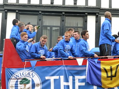 Wigan Athletic FA Cup parade - P1010457 (SAllison1972) Tags: football believe winners facup wigan wafc latics wiganathletic
