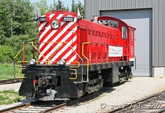 WCR 6593 (Ramblings From The 4th Concession) Tags: mlw diesellocomotive waterloocentralrailway canonrebelxsi mlwlocomotives stjacobsont wcr6593 canon18135stmlens